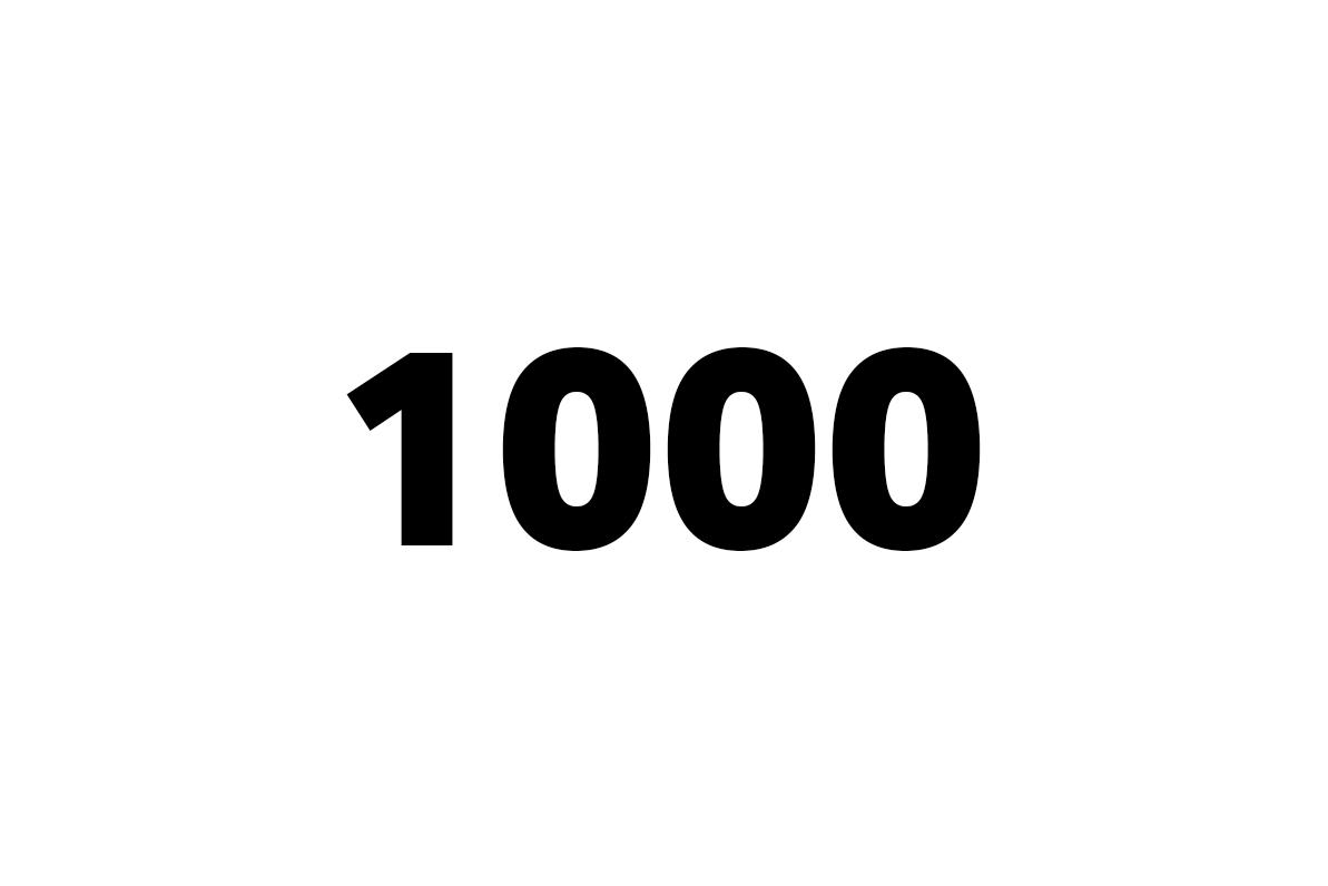 tisíc