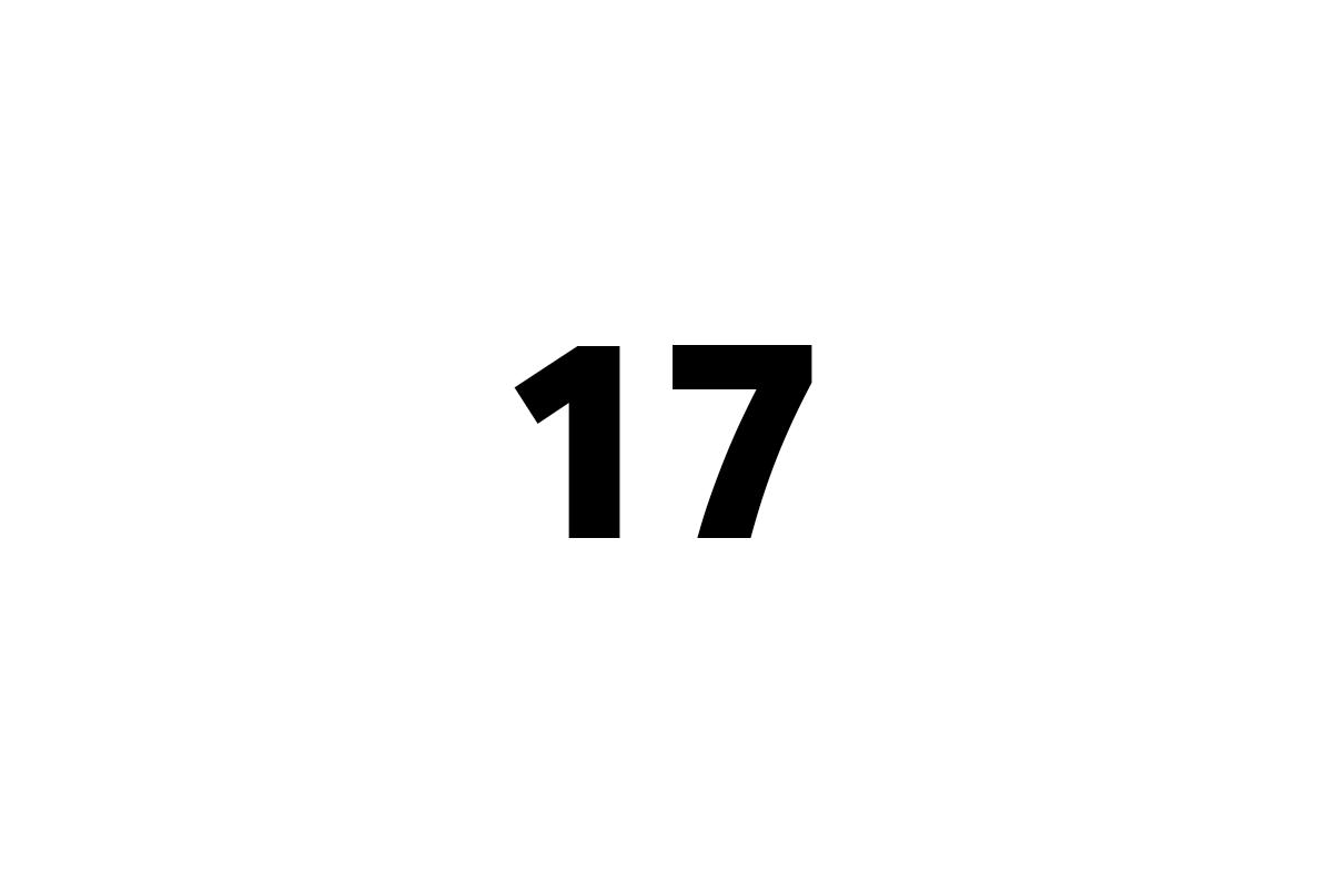 sedmnáct