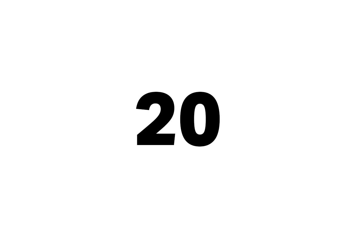 dvacet