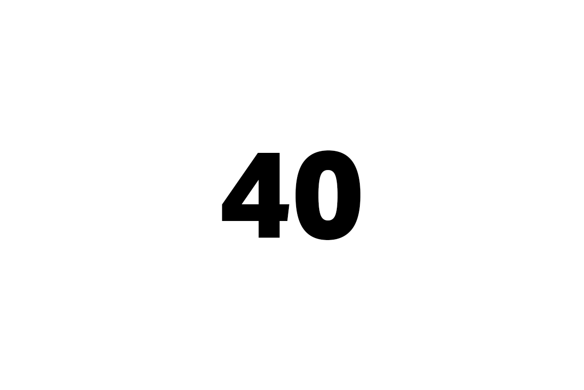 čtyřicet